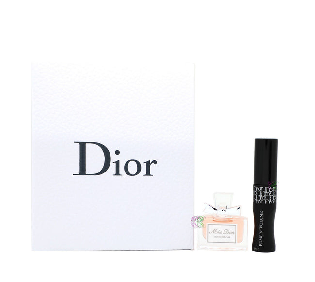 Dior Miss Dior Edp 5ml Perfume + Mascara 4ml Women Miniature Fragrances Gift Set