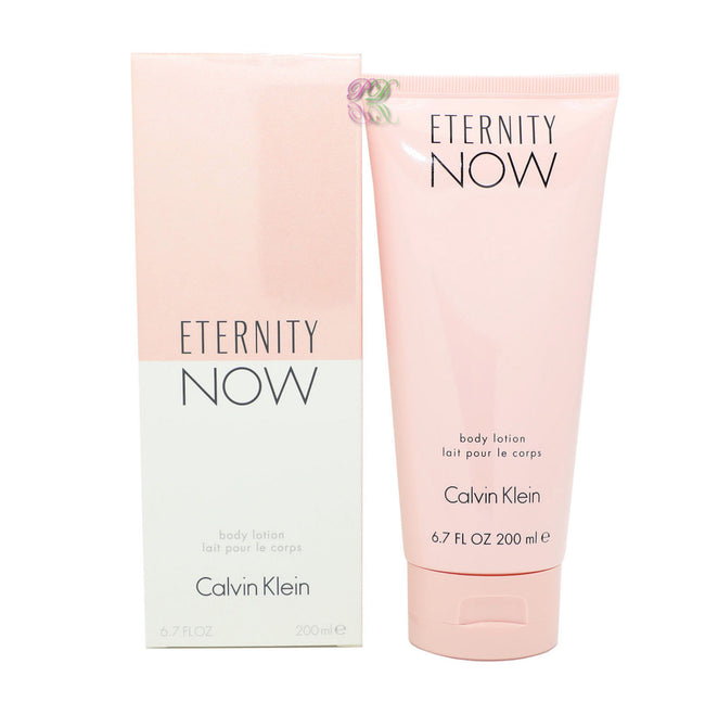 Calvin Klein Eternity Now Body Lotion 200ml CK Women Fragrances C K Boxed New
