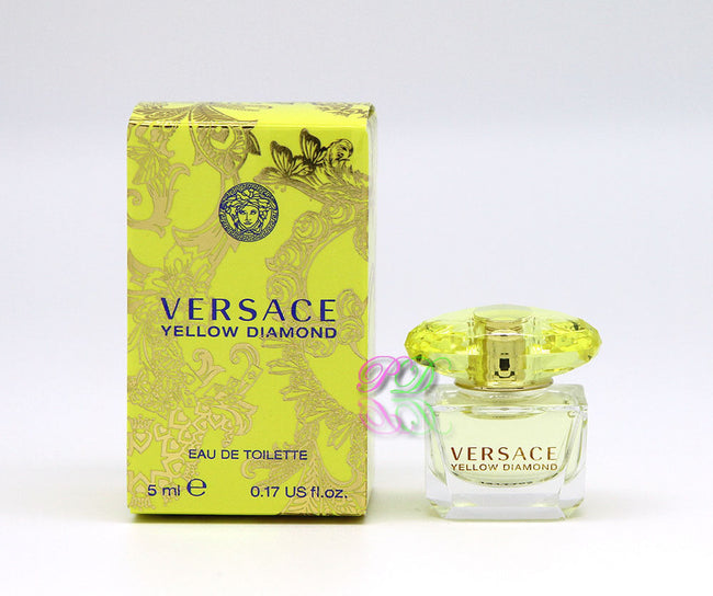 Versace Yellow Diamond Edt 5ml Damen Mini Parfüm Miniatur Düfte Neu