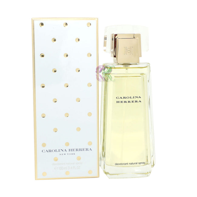 Carolina Herrera Deodorant Spray 100ml Herrera For Women Fragrances Boxed New