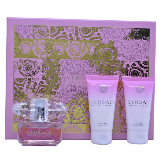 Versace BRIGHT CRYSTAL SET 3 pz