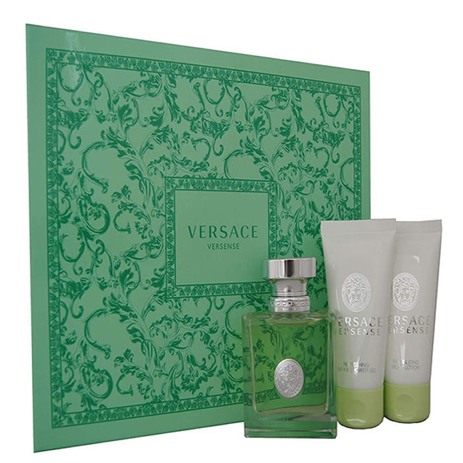 Versace Versense Eau De Toilette Spray 50ml Set 3 Pieces 2019