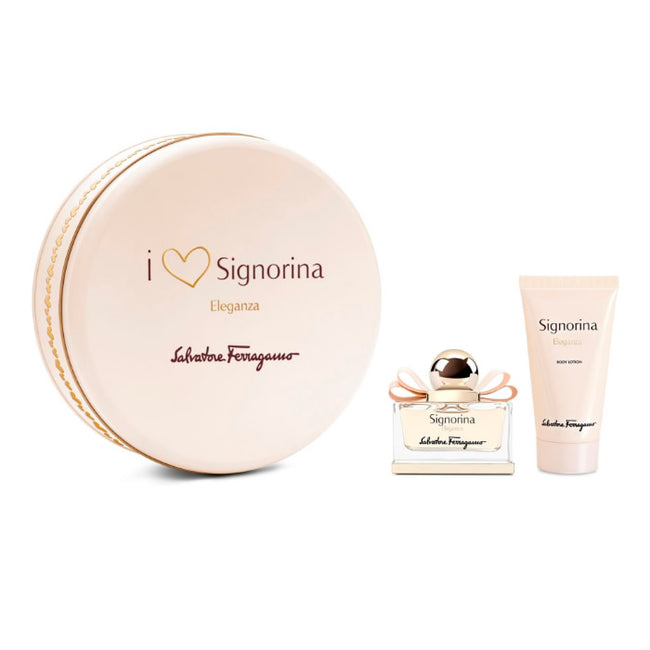 Salvatore Ferragamo Signorina Eau De Perfume Spray 30ml Set 2 Pieces 2018