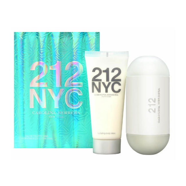 Carolina Herrera 212 Eau De Toilette Spray 100ml Set 2 Pieces 2019