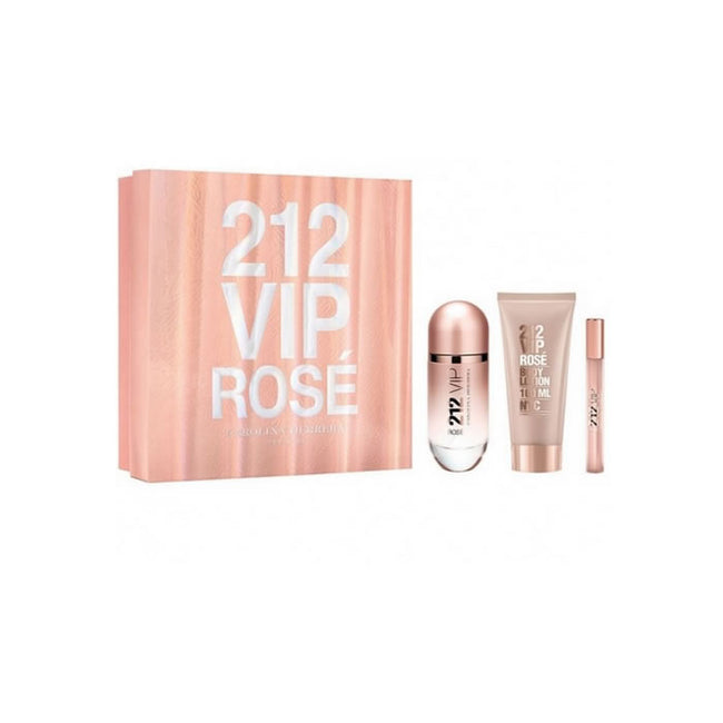 Carolina Herrera 212 Vip Rose Edp 80ml Perfume Spray Women Gift Set New