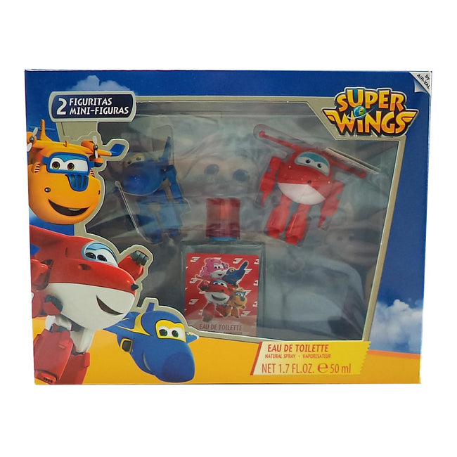 Disney Super Wings Eau De Toilette Spray 50ml Set 3 Pieces