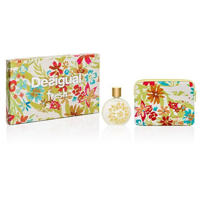 Desigual Fresh Woman Eau De Toilette Spray 100ml Set 2 Pieces 2019