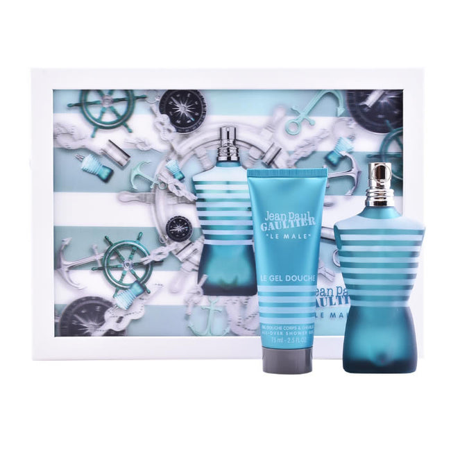 Jean Paul Gaultier Le Male Edt 75ml Perfume Spray Gift Set