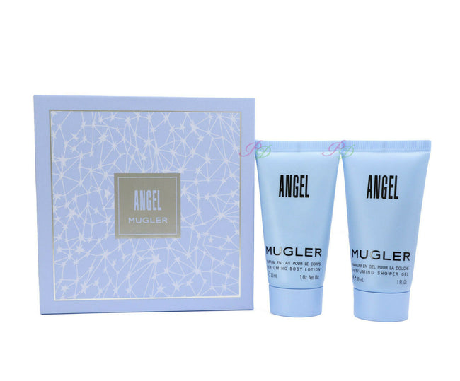 Thierry Mugler Angel Perfuming Body Lotion 30ml + Shower Gel 30ml Set Women