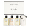 Chanel LES EAUX LE VOYAGE edt 150ml Set 4 Pieces
