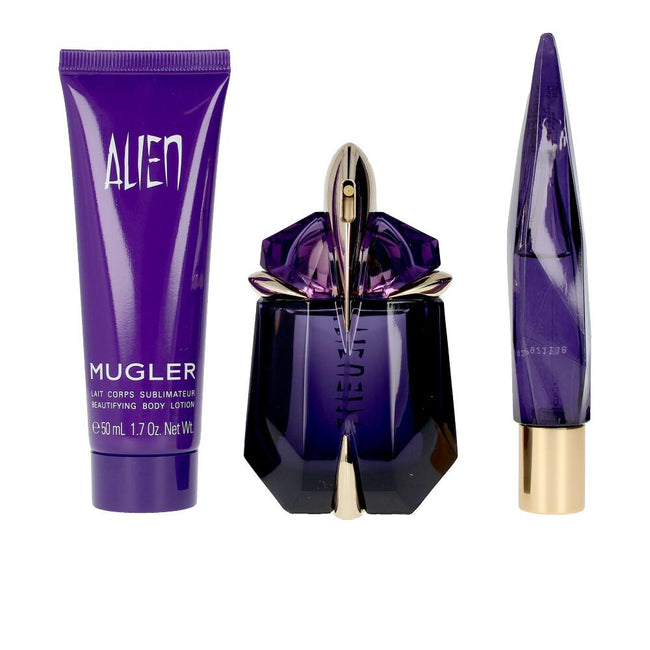 Thierry Mugler Alien Edp Spray 60ml Set 3 Pieces