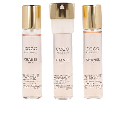 CHANEL COCO MADEMOISELLE edp spray twist & spray 3 refills x 7 ml