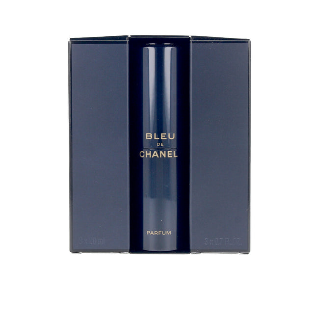 CHANEL BLEU edp spray twist & spray 3 refills x 20 ml