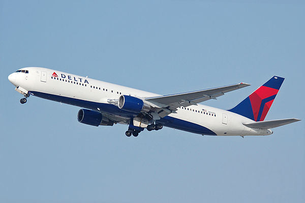 Boeing 767 from Delta Airlines