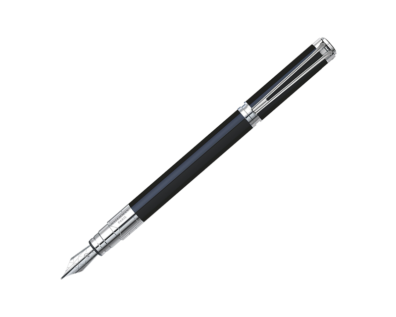 WATERMAN PERSPECTIVE BLACK CT FOUNTAIN PEN