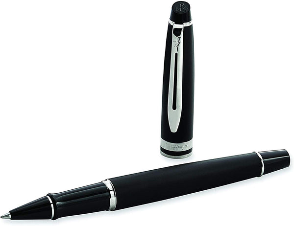 WATERMAN EXPERT MATTE BLACK CT ROLLERBALL PEN