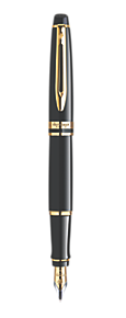 WATERMAN EXPERT MARS BLACK GT FOUNTAIN PEN