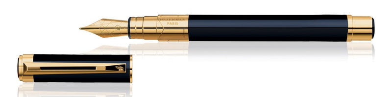 Waterman PERSPECTIVE BLACK GT Fountain Pen (Fine/Medium)