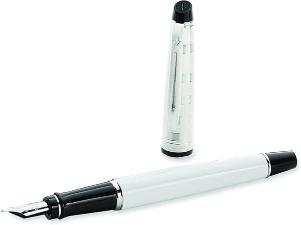 Waterman EXPERT DELUXE White CT Fountain pen