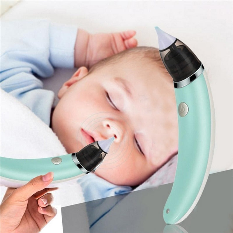Baby Nasal Aspirator Electric Safe Hygienic Nose Cleaner Baby Care Oral Snot Sucker For Newborn
