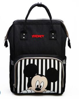 Disney Diaper Backpack Bag For Moms Travel Stroller with USB Heating