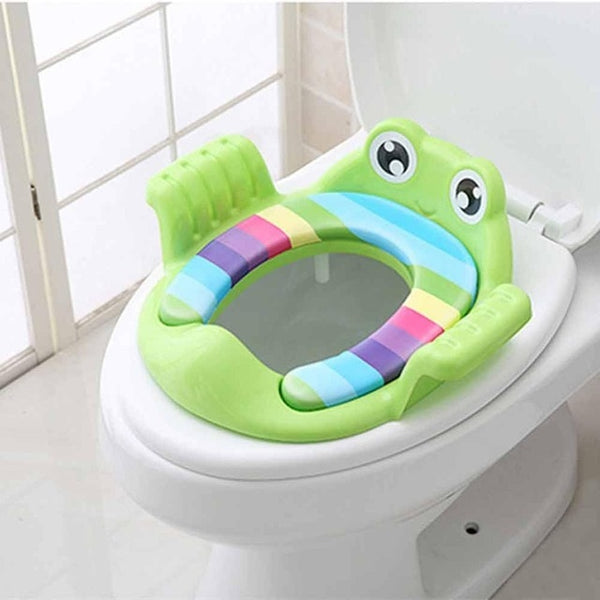 Folding Potty Toilet Training Seat with Adjustable Ladder for baby