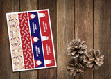 Kerst banners - bears collectie