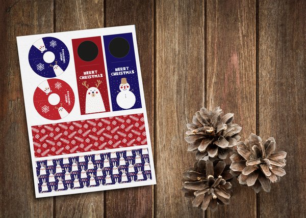 Kerst tabledesign - bears collectie