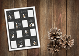 Kerst labels - grey collectie