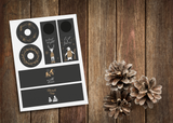 Kerst tabledesign - grey collectie