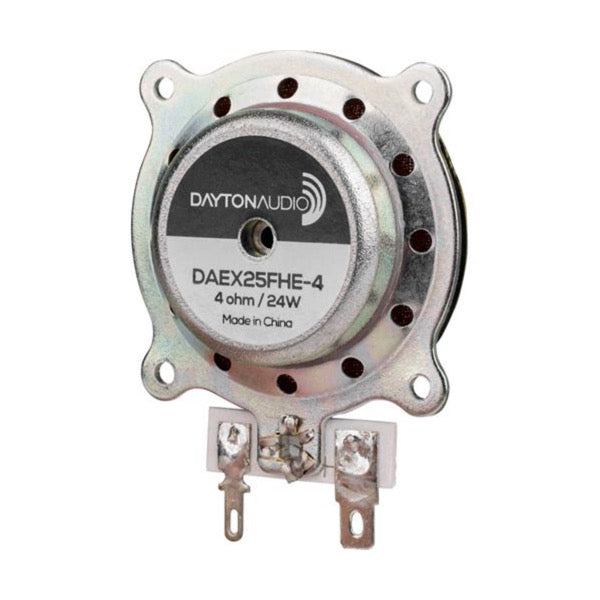 Parts Express Dayton Audio DAEX25FHE-4 Framed High Efficiency 25mm Exciter 24W 4 Ohm
