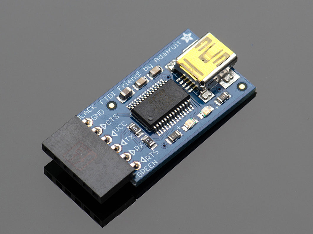 Adafruit FTDI Friend + Extras - 3DMakerWorld, Inc.
