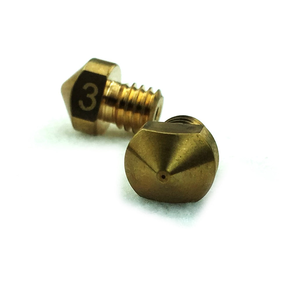 RepRapDiscount Hexagon Nozzle - 2.85mm x 0.3mm - 3DMakerWorld, Inc.