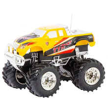 Invento 1:43 Scale RC Mini Off-Road Truck - Yellow