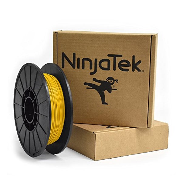 NinjaTek Cheetah TPU Filament, 1.75mm, .5kg, Sun - 3DMakerWorld, Inc.