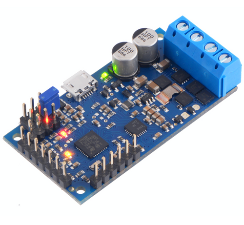 Pololu High-Power Simple Motor Controller G2 24v12 - Pre-soldered connectors