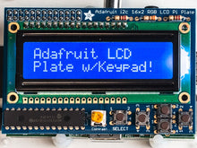 Adafruit Blue & White 16x2 LCD+Keypad Kit for Raspberry Pi
