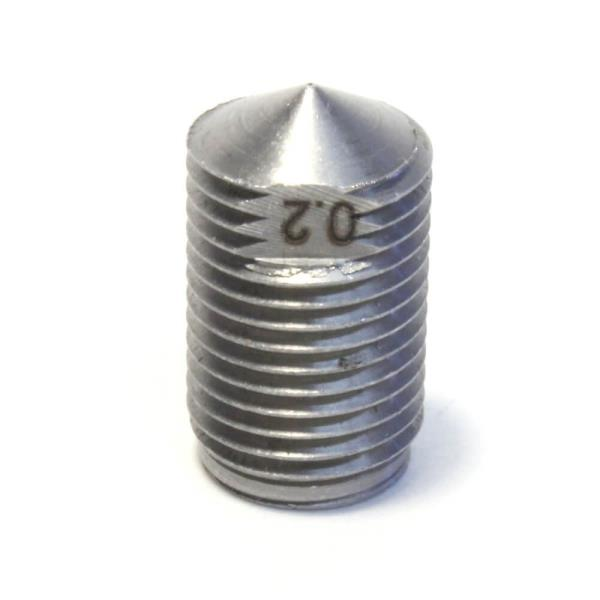 Dyze Design Hard Stainless Steel Nozzle - 0.2mm