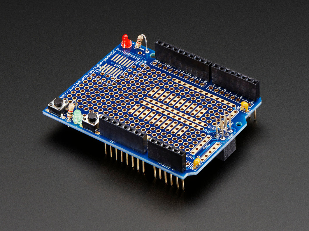 Adafruit Proto Shield - Stackable Version R3 (Arduino Compatible)