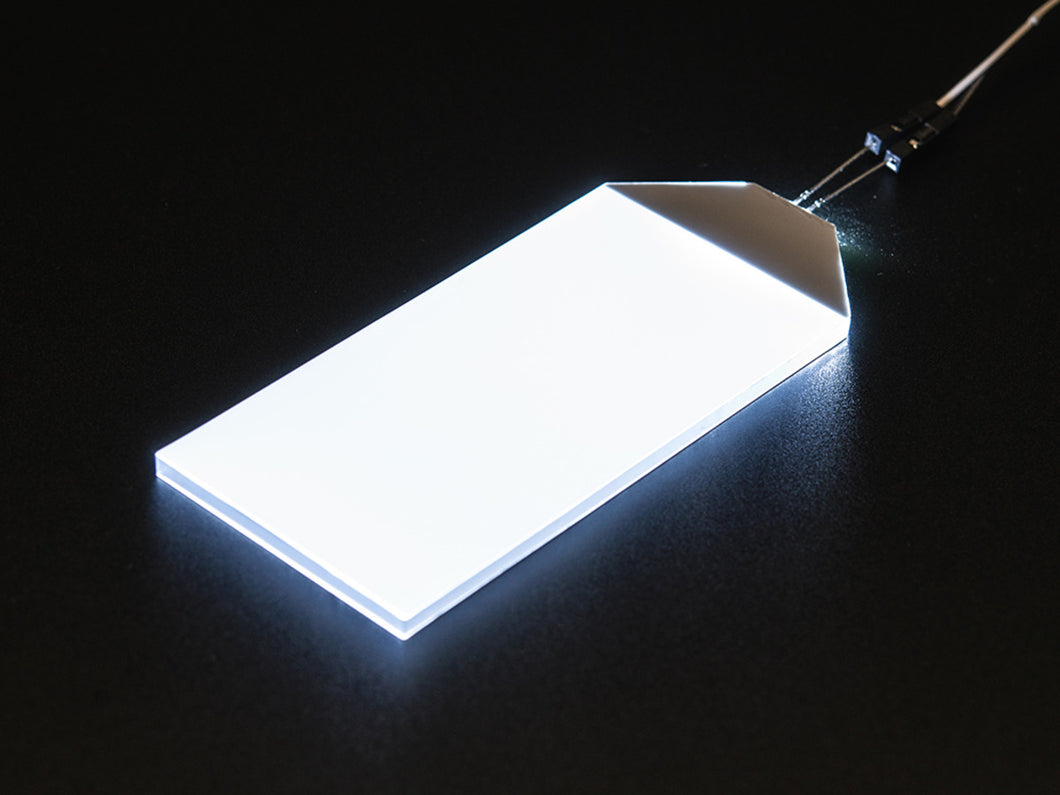 Adafruit White LED Backlight Module - Large 45mm x 86mm