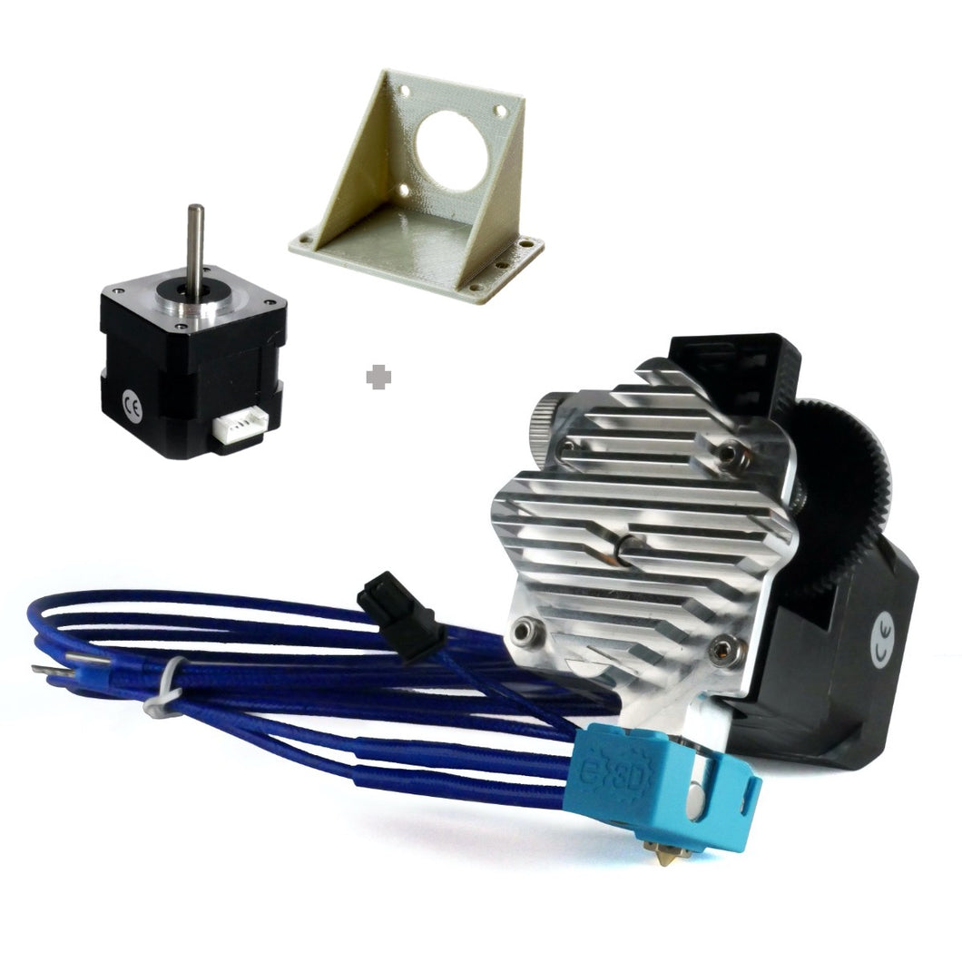 E3D Titan Aero Hotend & Extruder - 1.75mm, 12v, Motor & Mounting Bracket (Mirrored)