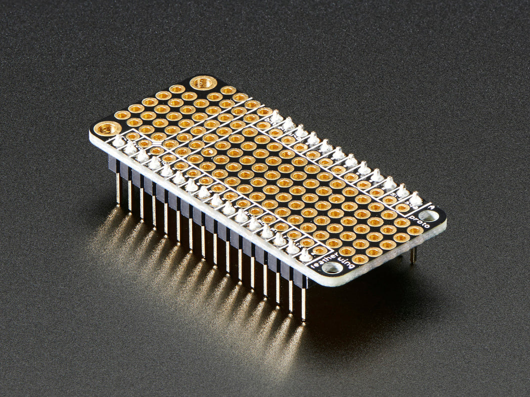 Adafruit FeatherWing Proto - Prototyping Add-on For All Feather Boards - 3DMakerWorld, Inc.