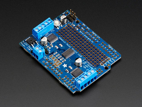 Adafruit Motor/Stepper/Servo Shield v2.3 (Arduino Compatible)