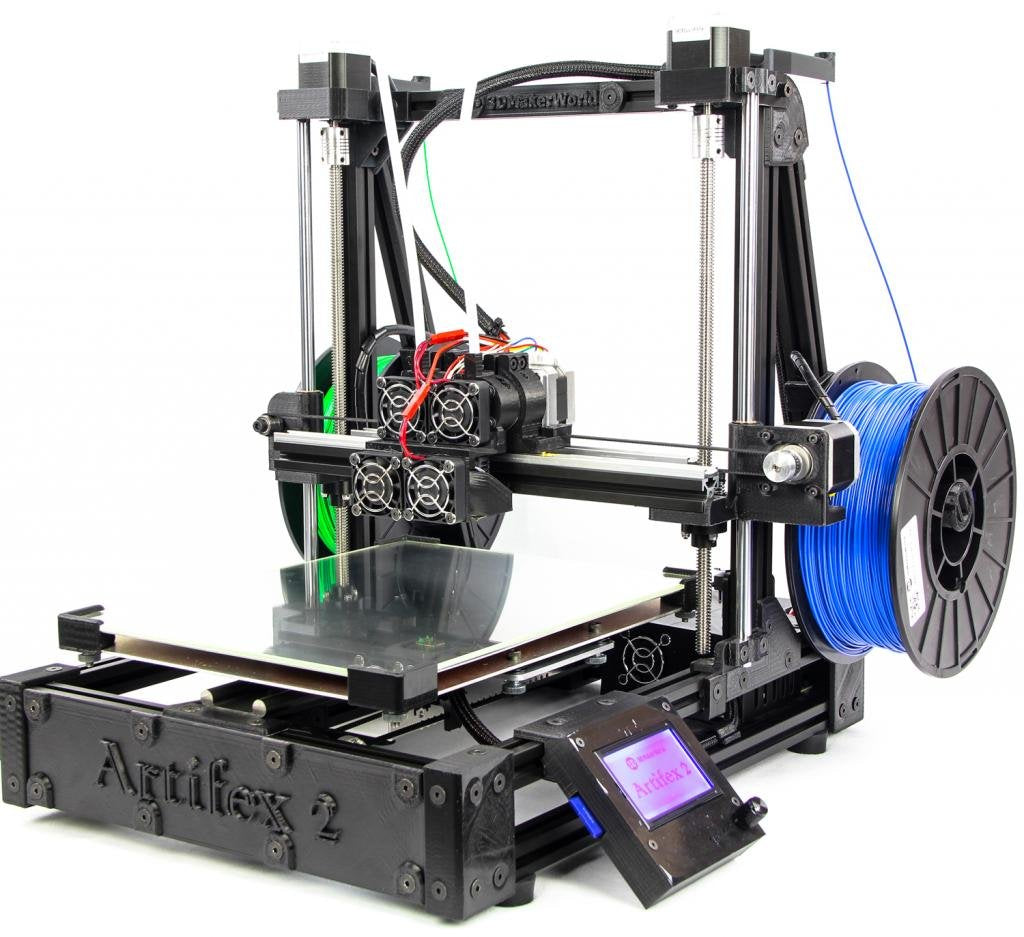 Artifex 2 Duo 3D Printer - Fully Assembled