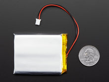 Adafruit Lithium Ion Polymer Battery - 3.7V 2500mAh