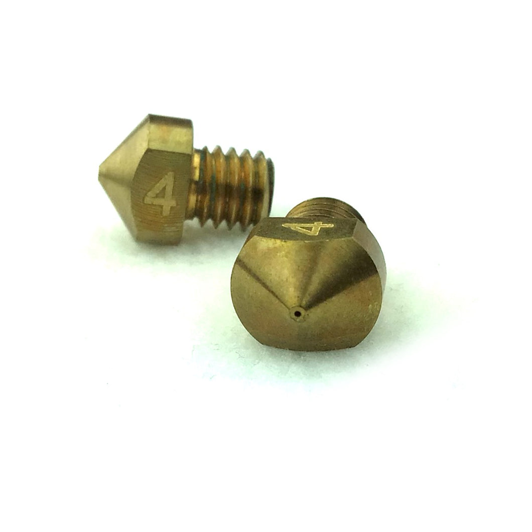 RepRapDiscount Hexagon Nozzle - 1.75mm x 0.4mm - 3DMakerWorld, Inc.