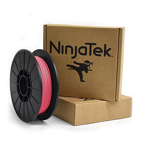NinjaTek NinjaFlex TPU Filament, 3.00mm, .5kg, Flamingo - 3DMakerWorld, Inc.