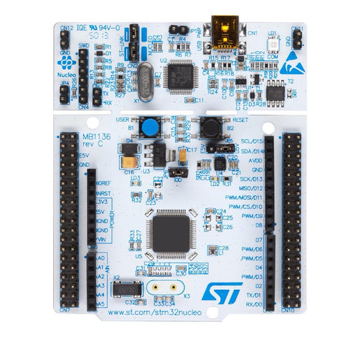 STM32 Nucleo-64 Development Board with STM32F446RE MCU - 3DMakerWorld, Inc.