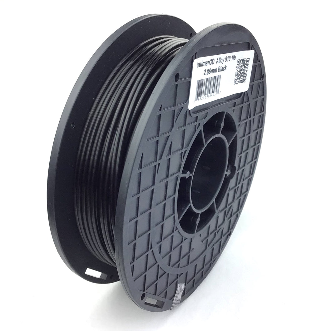 taulman3D Alloy 910 Filament - 2.85mm, 1lb, Black
