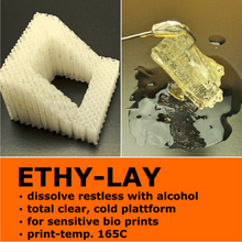 Lay Filaments ETHY-LAY Dissolvable Support 3D Printing Filament - 3.0mm, 0.10kg
